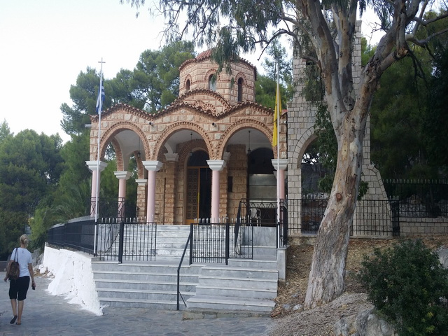 Crkvica u Methani